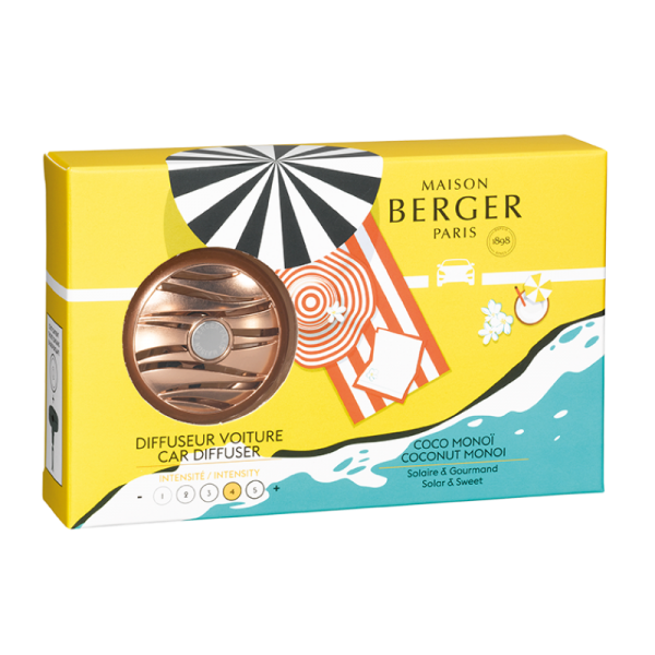 Maison Berger Autodiffusoren-Set Blissful Duft - Kokos Monoi