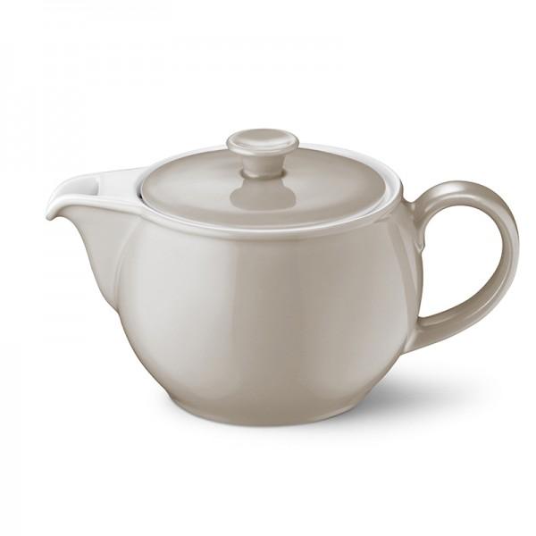 Dibbern Solid Color Teekanne 1,1l kiesel